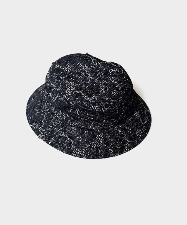 LAUGH & BE C.MIX HAT BLACK