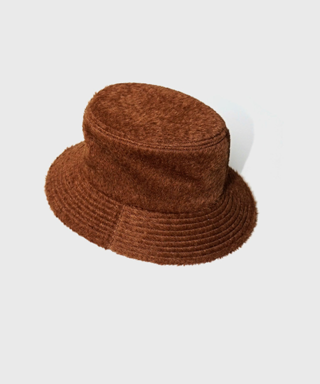 LAUGH & BE MAX.BOA HAT CAMEL