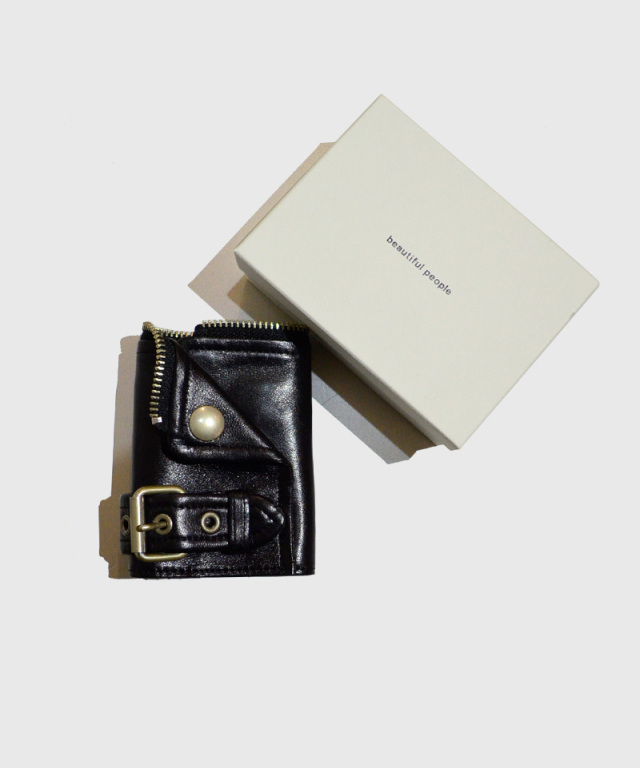 beautiful people riders petit wallet black