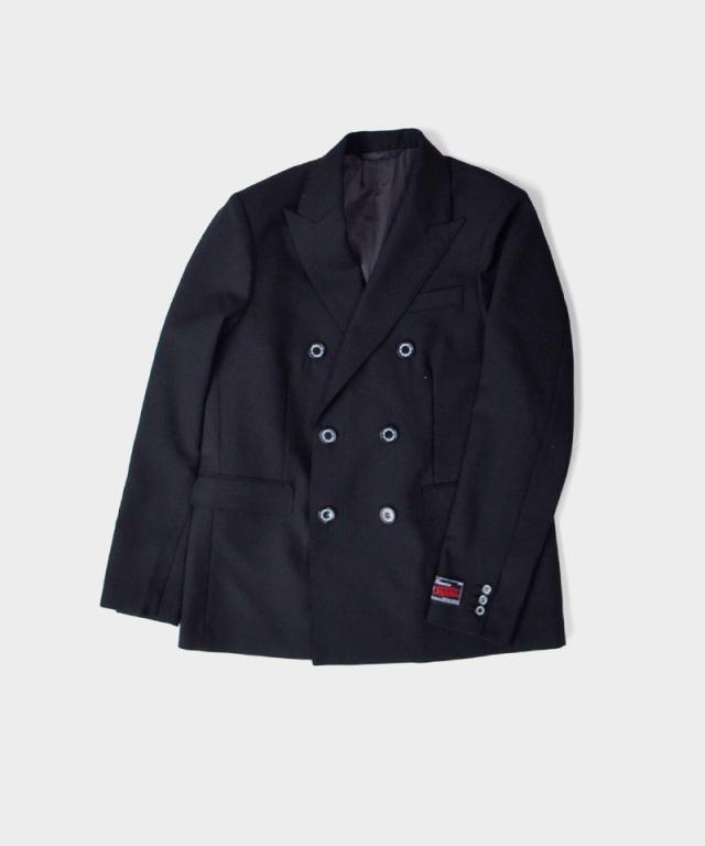 DAIRIKU Jimi Hendrix Double Tailored Jacket Black