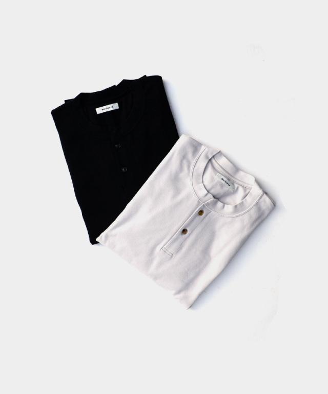 MATSUFUJI Henry Neck Sweat Shirt