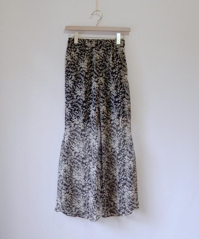 ERiKO KATORi flower chiffon pants