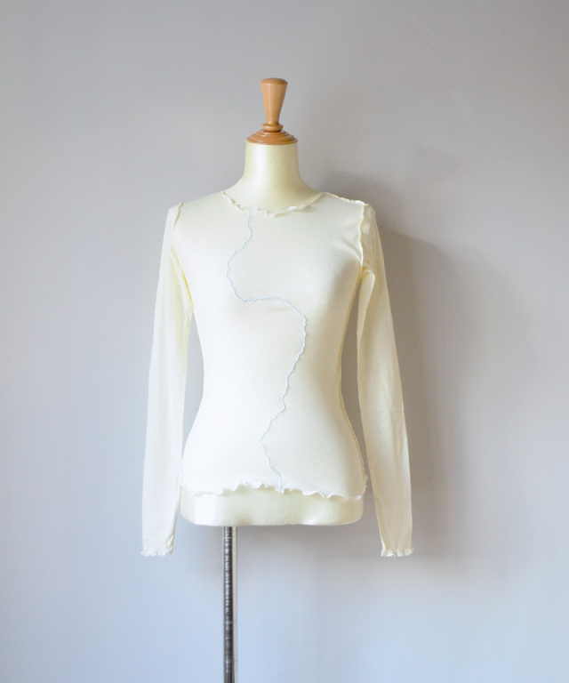 BASERANGE RIO GRANDE LONG SLEEVE OFF WHITE