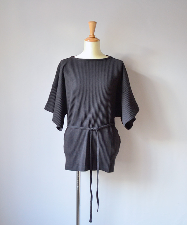 BASERANGE CLAIR TOP BLACK