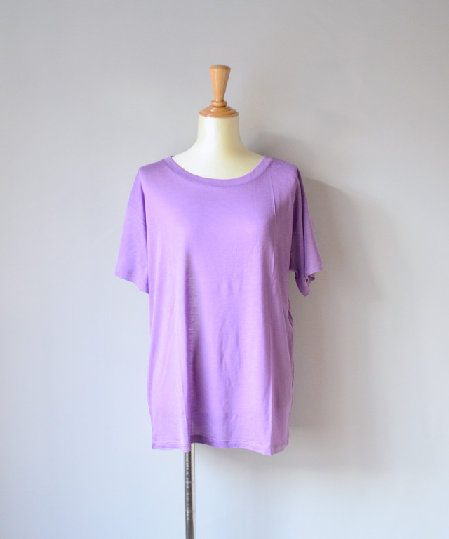 BASERANGE LOOSE TEE CHAY PURPLE