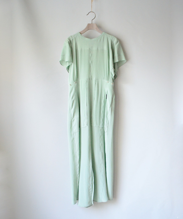 PHOTOCOPIEU 4pokets dress for summer MINT