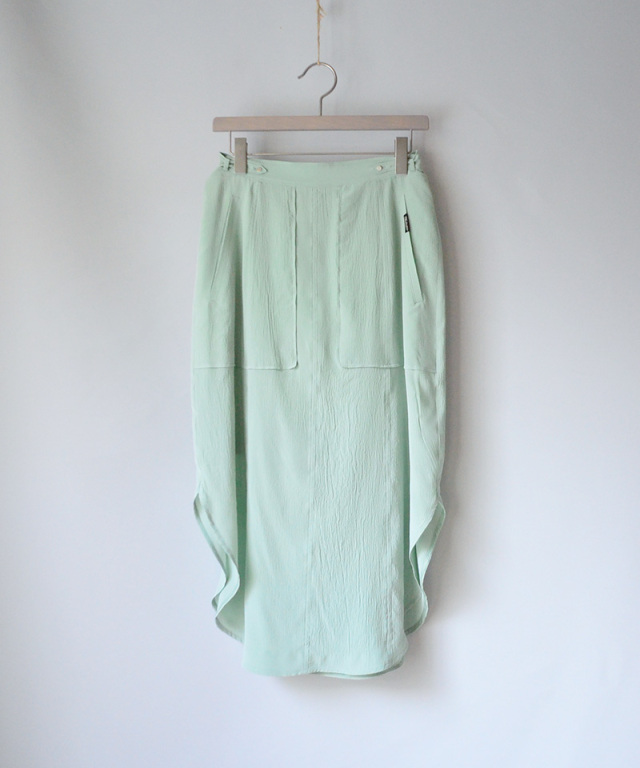 PHOTOCOPIEU side slit skirt MINT