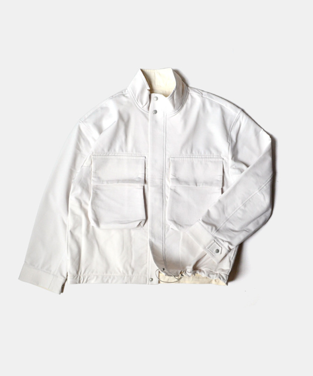 CURLY ANCOATS BDU BLOUSON DULL WHITE