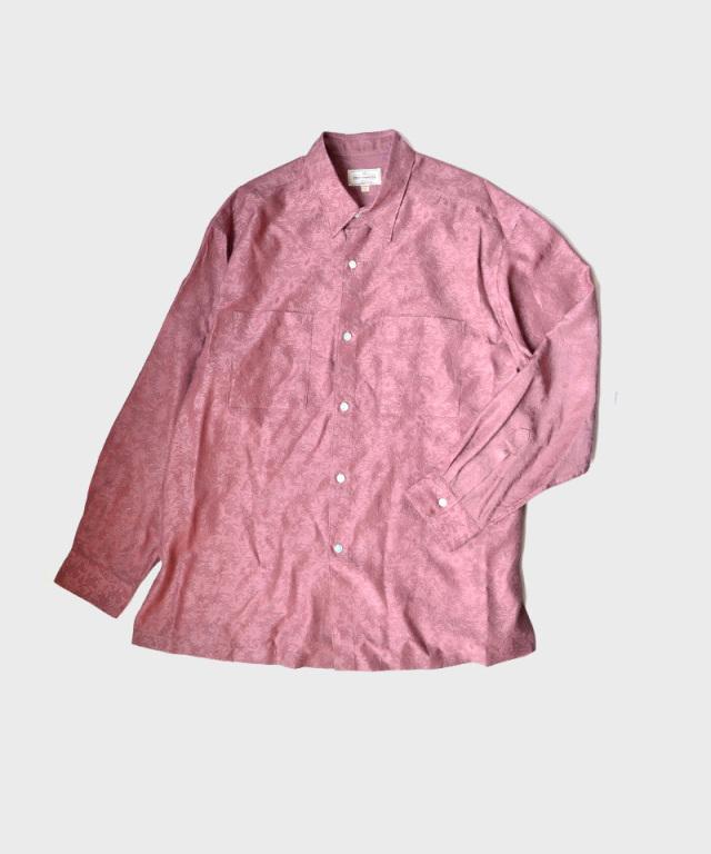 NEZU YO-HINTEN 綿キュプラJQポケットシャツ ピンク