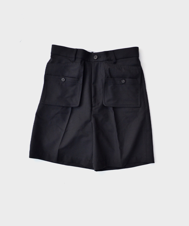 MATSUFUJI Workaholic Utility Short Pants BLACK