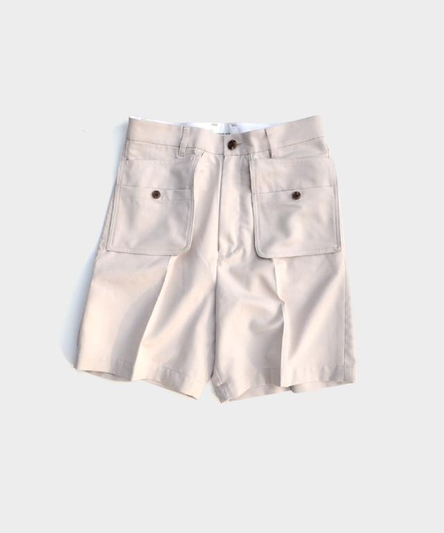 MATSUFUJI Workaholic Utility Short Pants GREIGE