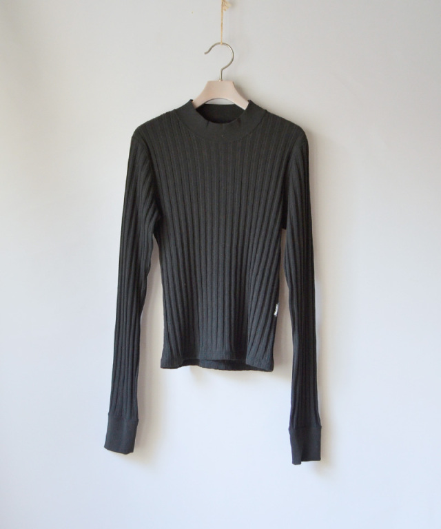 PHOTOCOPIEU LONG SLEEVE PULLOVER BLACK