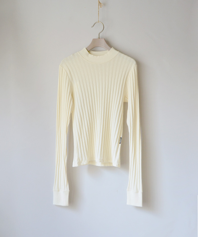 PHOTOCOPIEU LONG SLEEVE PULLOVER ECRU
