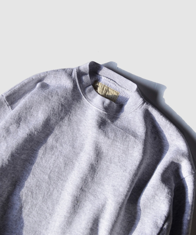 77circa circa make wide set in short sleeve sweat top gray