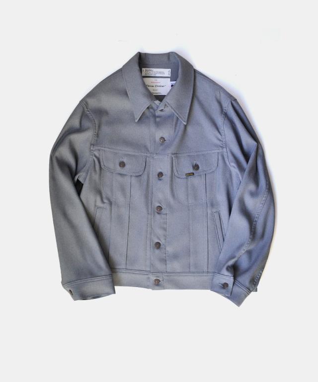 DAIRIKU Regular Polyester Jacket Concrete