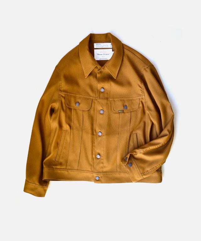 DAIRIKU Regular Polyester Jacket Soil