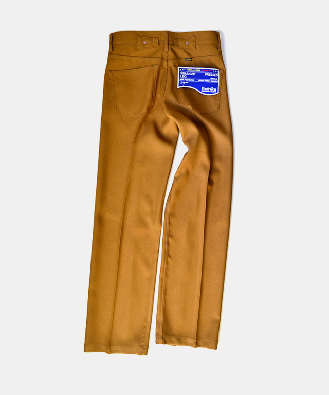 DAIRIKU Straight Flasher Pressed Pants