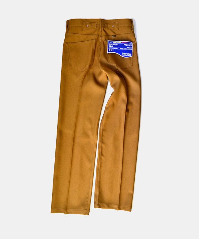 DAIRIKU Straight Flasher Pressed Pants Soil