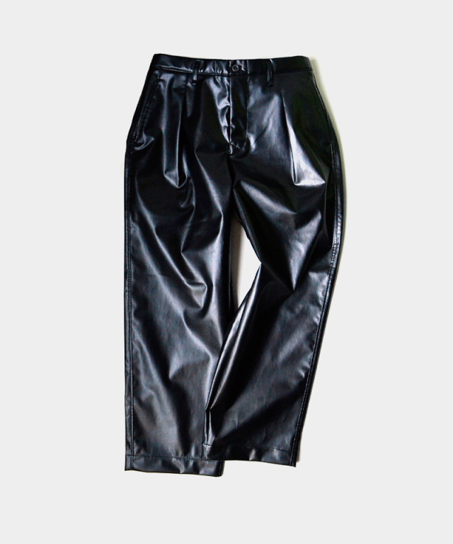 CURLY BROWLEY WIDE TROUSERS BLACK