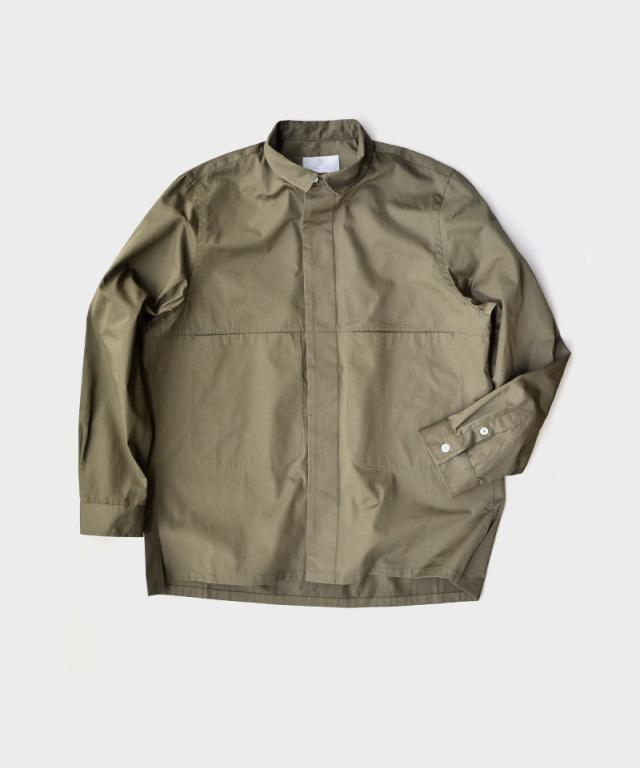 QUILP Pocket Shirt OLIVE