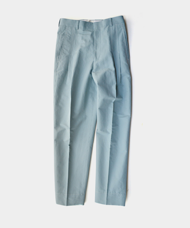 beautiful people military weather two tuck pants mint