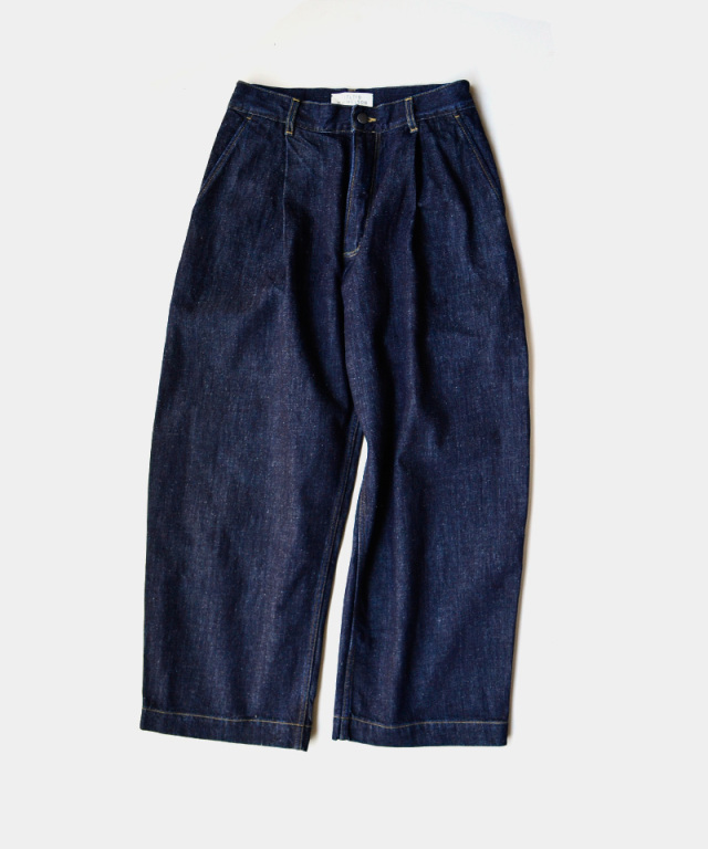 STUDIO NICHOLSON SELVAGE DENIM PANT
