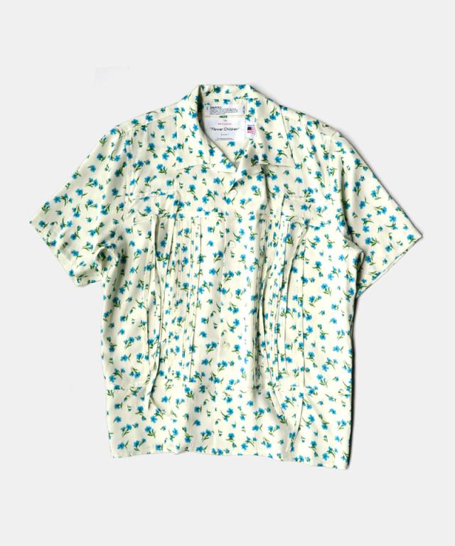 DAIRIKU Wyatt Open Collar Shirt Moring
