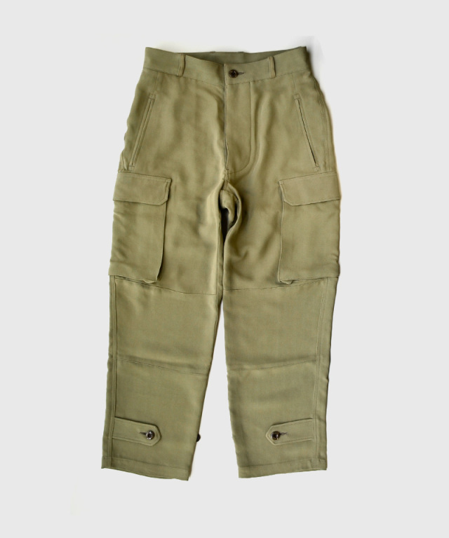 PHOTOCOPIEU FRENCH MILITARY TROUSERS OLIVE