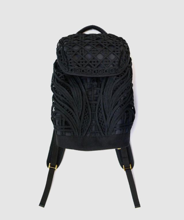 mame kurogouchi Cording Embroidery Backpack