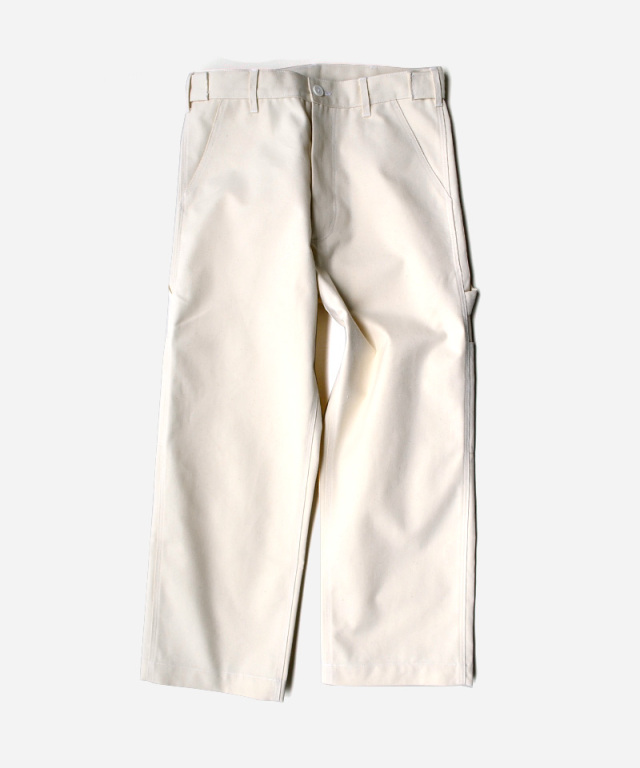 CAMIEL FORTGENS WORKER PANTS CANVAS OFF-WHITE