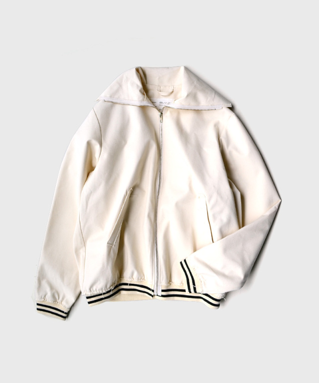 CAMIEL FORTGENS RESEARCH SPORTS JACKET CANVAS OFF-WHITE