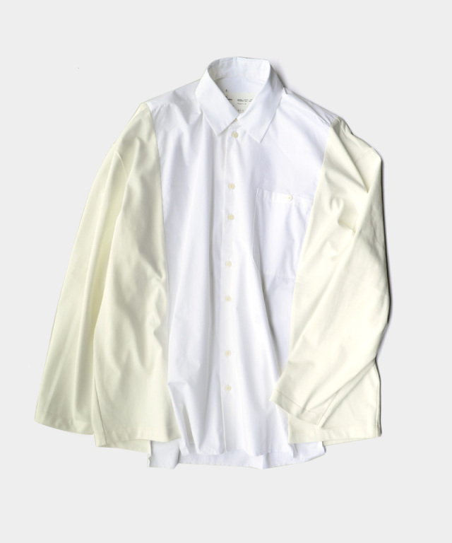 CAMIEL FORTGENS RESEARCH SHIRT TEE LONG SLEEVE COTTON/JERSEY WHITE
