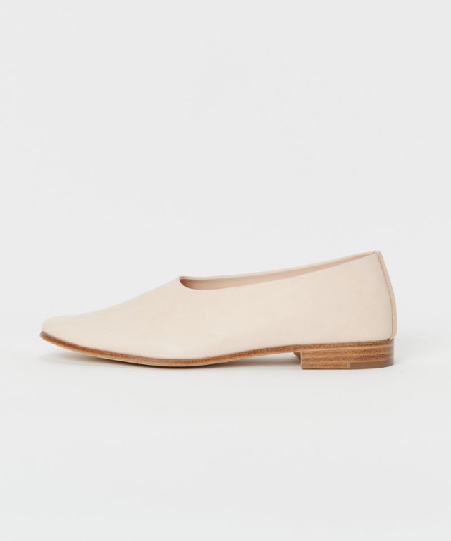 Hender Scheme foot cast///slip on natural
