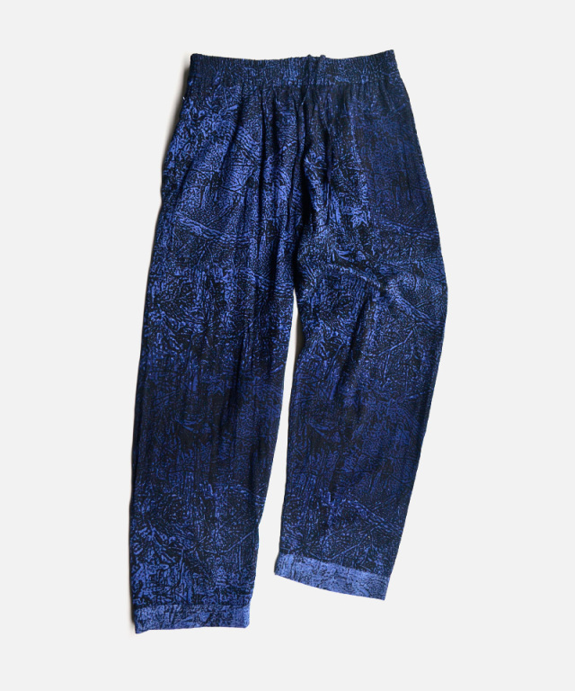 PHINGERIN NIGHT PANTS GAUZE NIGHT FORREST A:NAVY