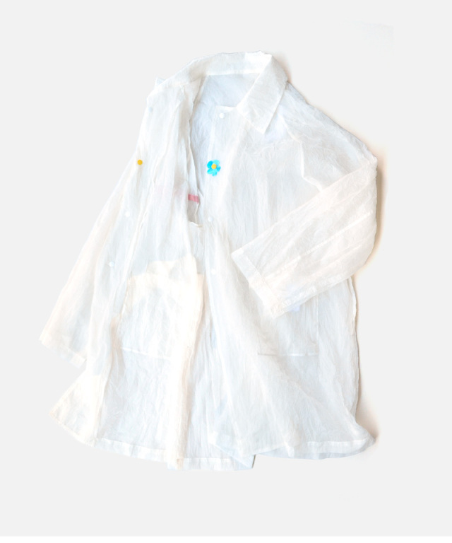 PHINGERIN WRINKLE COAT A:WHITE
