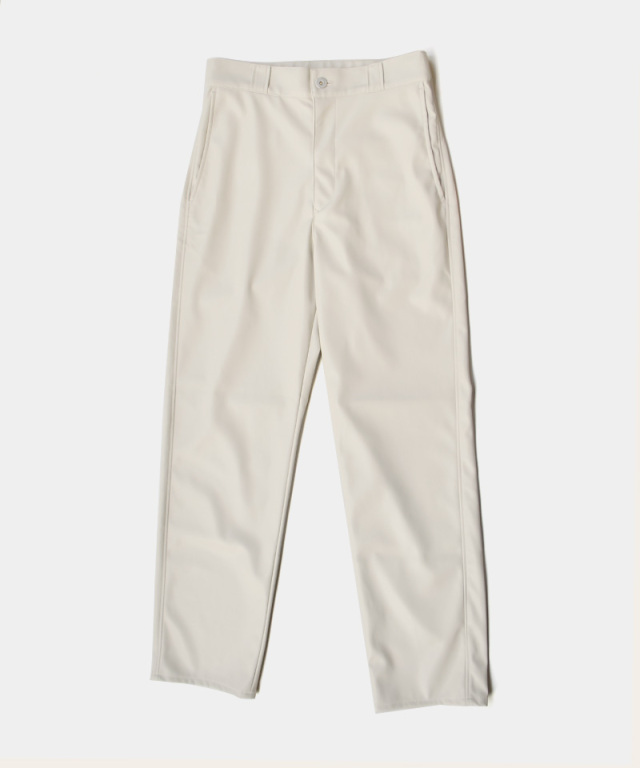 &her ecoleather pants WHITE - Ladys