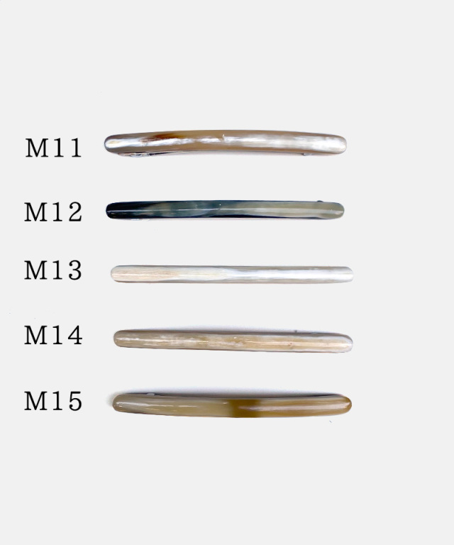 KOST KAMM Hair clip horn/extra slender shape/10cm TYPE-M2