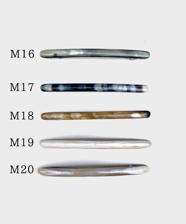 KOST KAMM Hair clip horn/extra slender shape/10cm TYPE-M3
