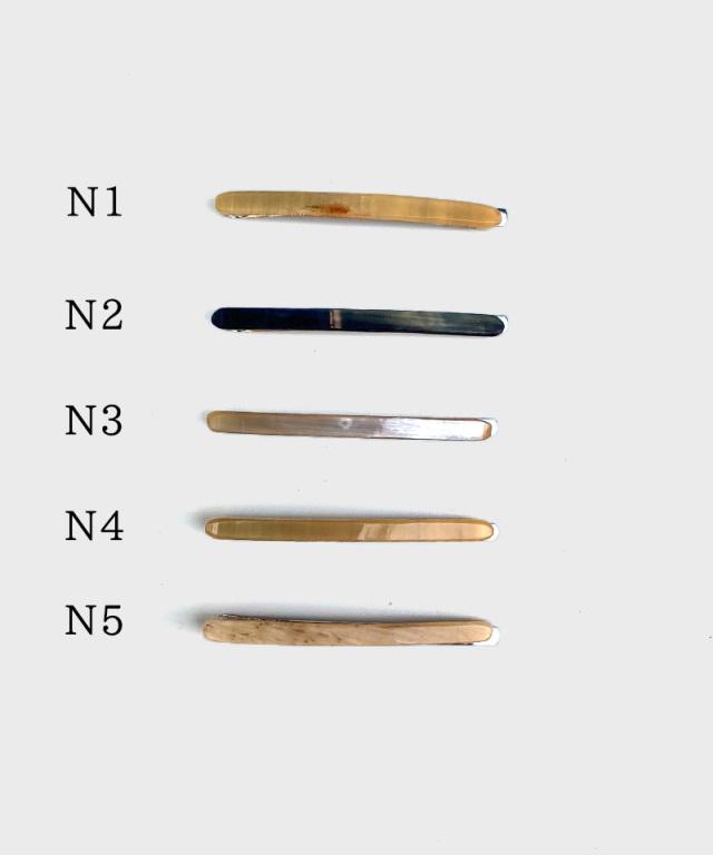 KOST KAMM Hair clip horn/extra slender shape/5cm TYPE-N1