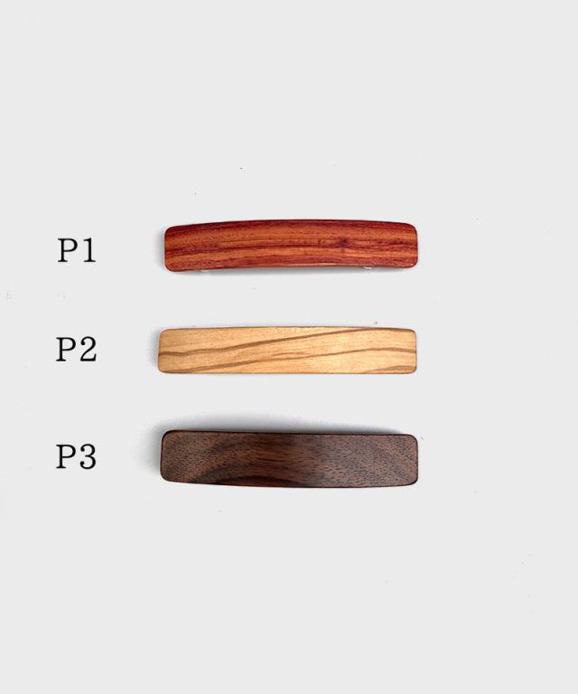KOST KAMM Hair clip natural wood /8cm TYPE-P