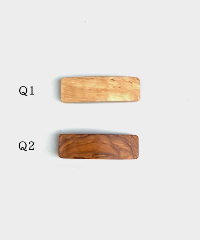 KOST KAMM Hair clip natural wood /8cm TYPE-Q