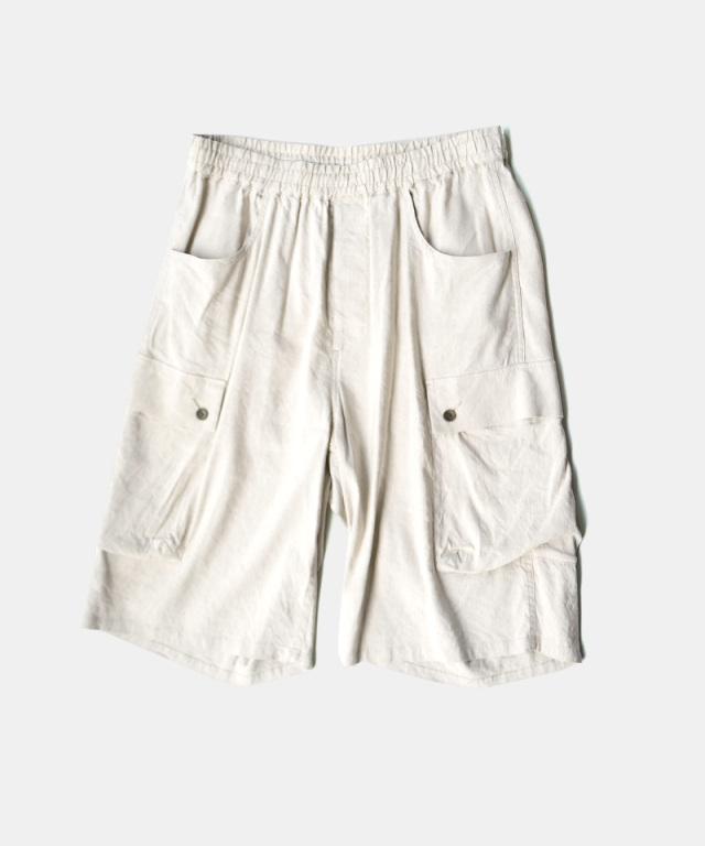 Neweye Relax Cargo Pants Natural
