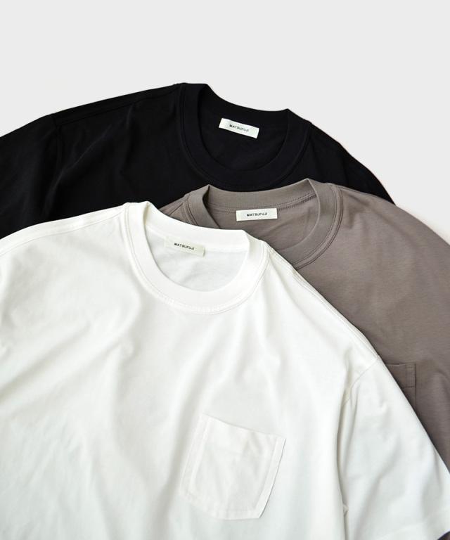 MATSUFUJI Short Sleeve Pocket T-shirt