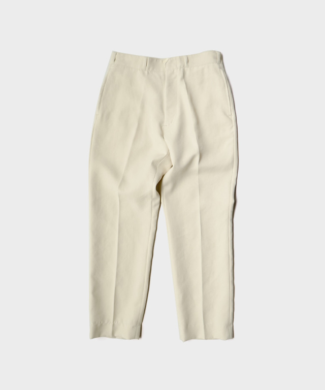 saby POLY WORK PANTS FULLY DULL SPAN TWILL GREGE