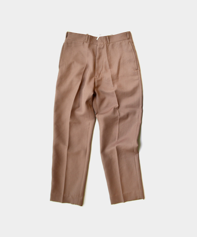 saby POLY WORK PANTS FULLY DULL SPAN TWILL TERACOTTA