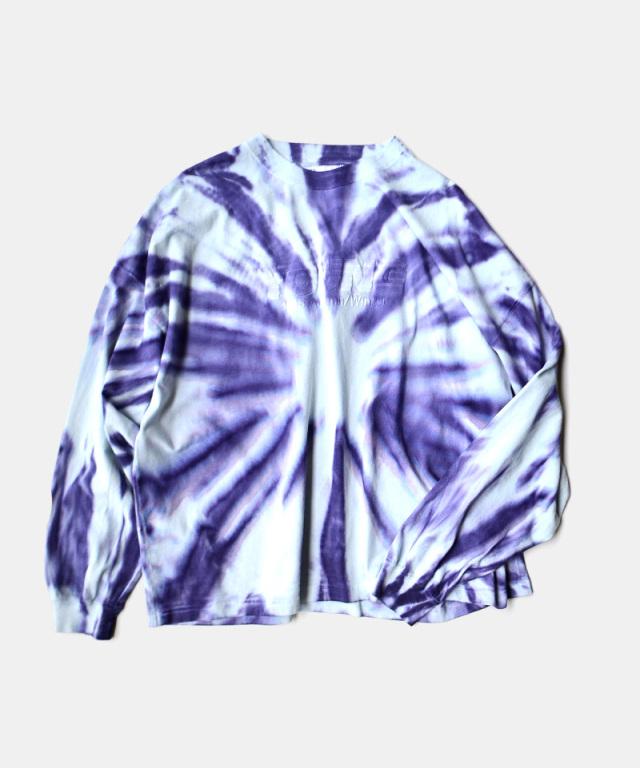 DAIRIKU YOUNG Tie-dye Tee Purple