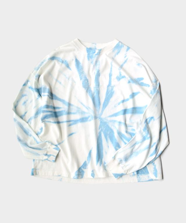DAIRIKU YOUNG Tie-dye Tee Youth Blue