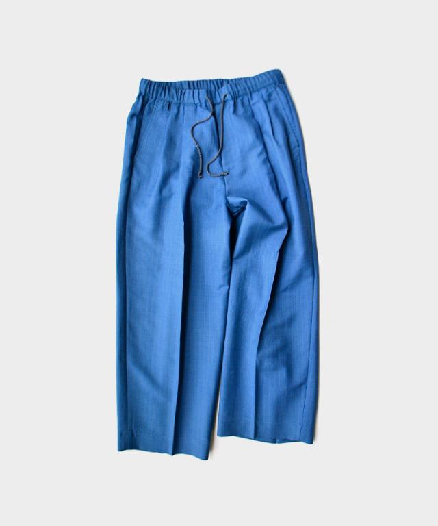 HEALTH EASY PANTS#4 ブルー×グリーンストライプ