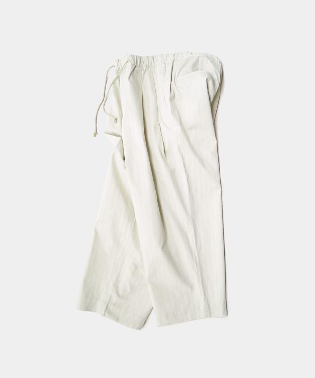 HEALTH EASY PANTS#4 オフホワイトストライプ