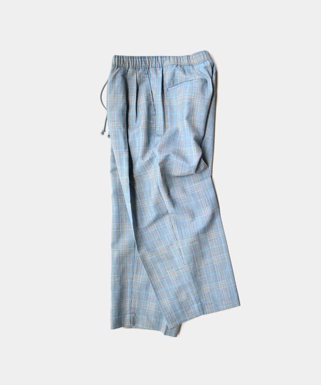 HEALTH EASY PANTS#4 ブルーチェック